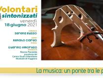 Ospite di Volontari Sintonizzati, venerdì 18 giugno, Renato Ciardo
