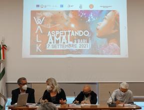 The Walk, il cammino: il 7 settembre arriva a Bari Amal