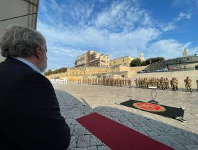 BRINDISI, 50° ANNIVERSARIO DELL'INSEDIAMENTO DELLA FANTERIA DI MARINA