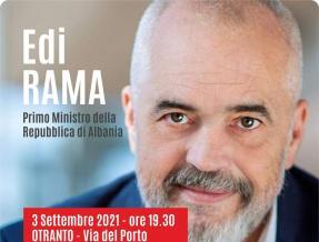 Festival Giornalisti del Mediterraneo, domani l'arrivo del premier albanese Edi Rama