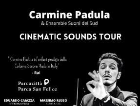 Summer Park 2021, a Parcocittà arriva il talento di Carmine Padula e Ensemble 'Suoni del Sud'