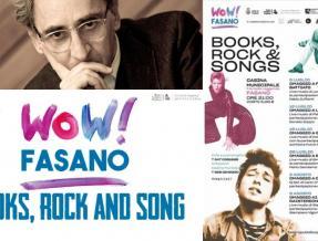 DAL 5 LUGLIO A FASANO LA RASSEGNA -BOOKS, ROCK AND SONGS-