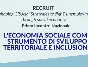 Parte il progetto RECRUIT: il 6 maggio il meeting nazionale on line